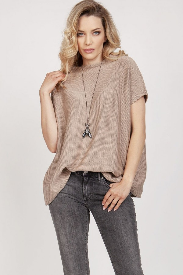 Le pull chandail femme - Mocca - MKM